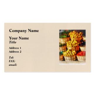 Celemines de sabor tarjetas de visita