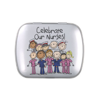 Celerate Our Nurses  Candy Tins and Jars
