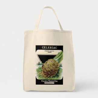 Celeriac Card Seed Co. packet Vintage Fredonia, NY Tote Bag
