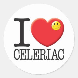 Celeriac Round Sticker