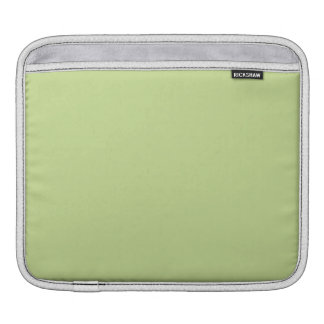 Celery Green Solid Color iPad Sleeve