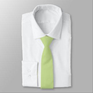 Celery Green Solid Color Necktie