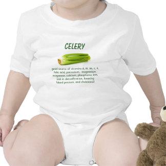 Celery infant onsie creeper