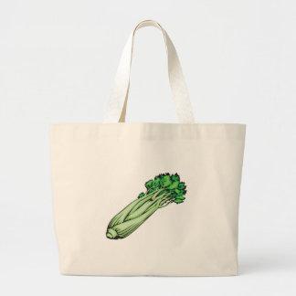 celery jumbo tote bag