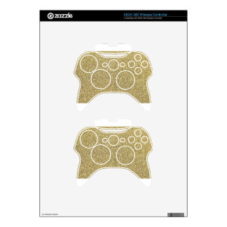 Celery Seeds and Stems Background Xbox 360 Controller Decal