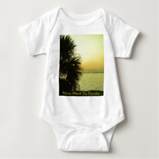 Celery silhouette baby bodysuit
