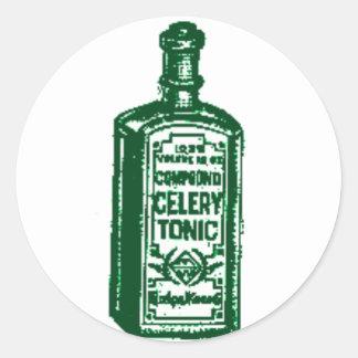 Celery Tonic Classic Round Sticker