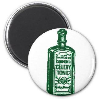 Celery Tonic Fridge Magnet