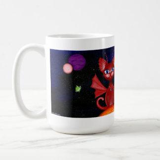 Celest, Fairy Fantasy Space Kitty Coffee Mug