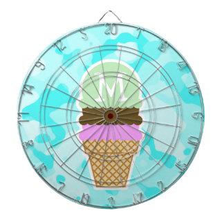Celeste Camo; Ice Cream Cone Dartboards