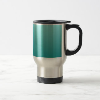 Celeste to Teal Horizontal Gradient Travel Mug