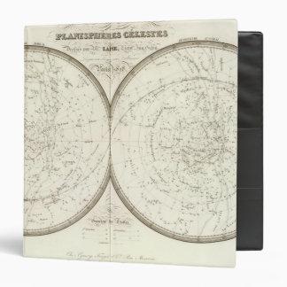 """Celestes de los planisferios - celestiales carpeta 1 1/2"""""""