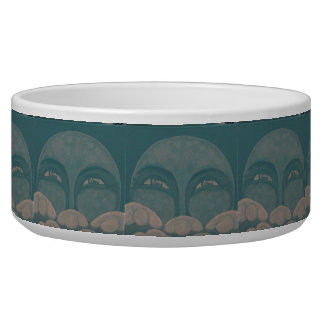 Celestial #8 Dog Bowl