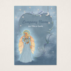 Celestial Angel Business Card at Zazzle