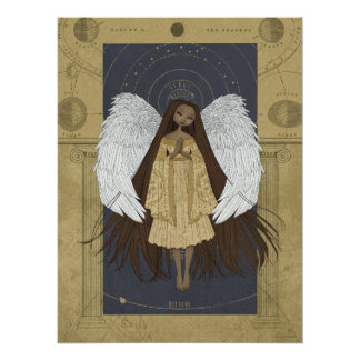 Celestial Angel Print