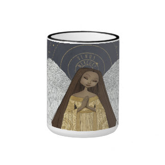 Celestial Angel Ringer Mug