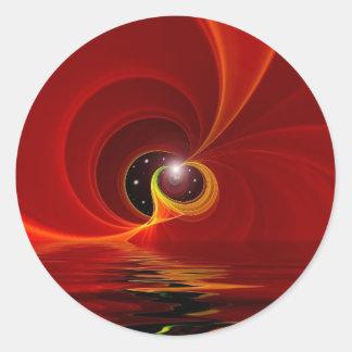 Celestial Art Classic Round Sticker