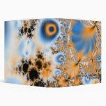Celestial · Arte del fractal · Azul y naranja