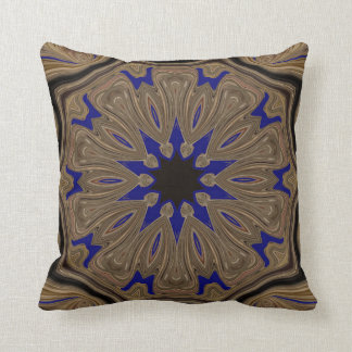 Celestial Bark Wood. Throw Pillow