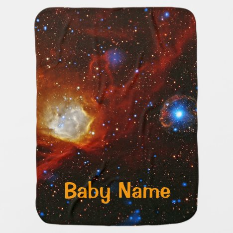 Celestial Bauble, Nebula N90 and Pulsar SXP1062 Baby Blanket