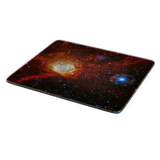 Celestial Bauble - Nebula N90 and Pulsar SXP1062 Cutting Board