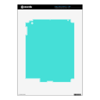 CELESTIAL BLUE (solid color) ~ Skin For iPad 2