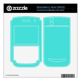 CELESTIAL BLUE (solid color) ~ BlackBerry Bold 9650 Skin