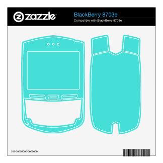 CELESTIAL BLUE (solid color) ~ BlackBerry Decals