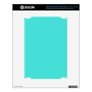 CELESTIAL BLUE (solid color) ~ Decal For The NOOK