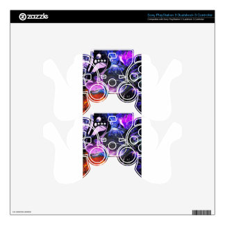 Celestial Bodies PS3 Controller Decals