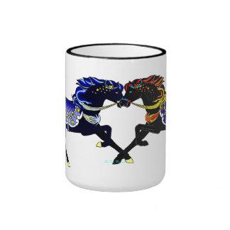 Celestial Carousel Horses Mug