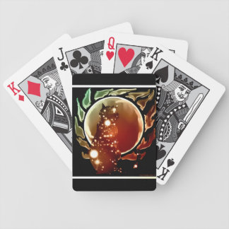 celestial cat bicycle playing cards