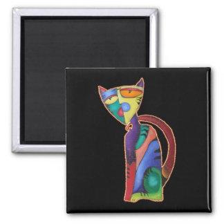 Celestial Cat Fridge Magnet