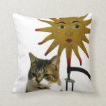 Celestial Cat Pillow