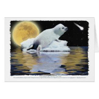 CELESTIAL CHILD HARP SEAL Cards
