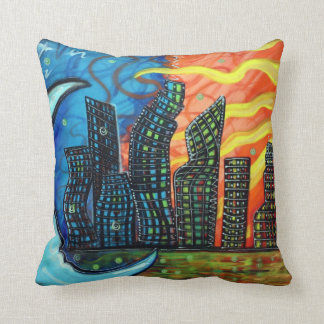 Celestial City American MoJo Pillow