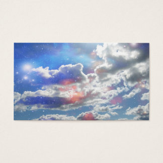 Celestial Clouds Business Card