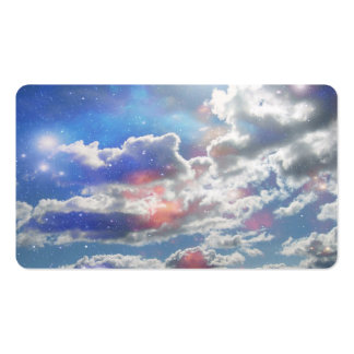 Celestial Clouds Business Card Templates
