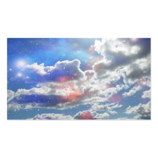 Celestial Clouds Business Cards
