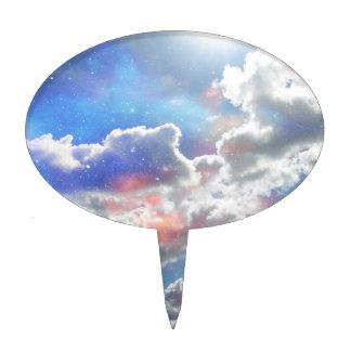 Celestial Clouds Cake Pick