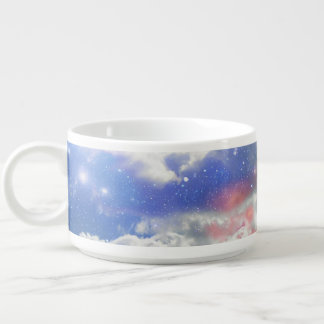 Celestial Clouds Chili Bowl