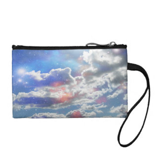 Celestial Clouds Coin Purse