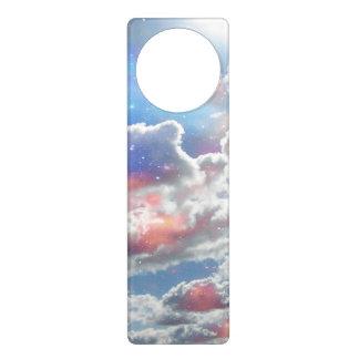 Celestial Clouds Door Knob Hangers