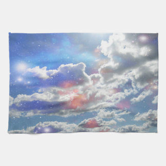 Celestial Clouds Kitchen Towel