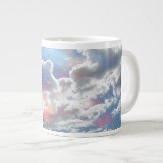 Celestial Clouds Large Coffee Mug