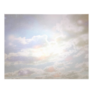 Celestial Clouds Letterhead