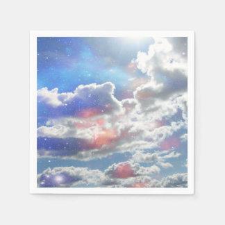 Celestial Clouds Napkin