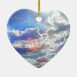 Celestial Clouds Ornament