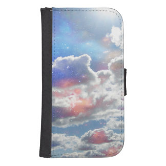 Celestial Clouds Phone Wallet