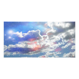 Celestial Clouds Photo Card